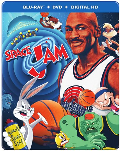 Space Jam: 20th Anniversary Steelbook Blu-ray Review