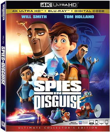 Spies in Disguise 4K Ultra HD Review