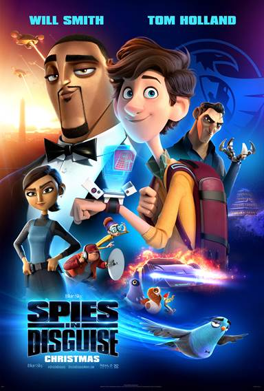 Spies in Disguise © 20th Century Fox. All Rights Reserved.