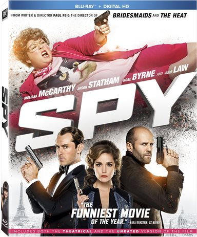 Spy Blu-ray Review
