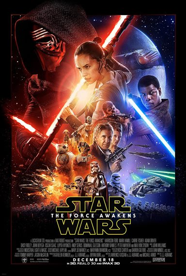 Star Wars: Episode VII - The Force Awakens © Walt Disney Pictures. All Rights Reserved.