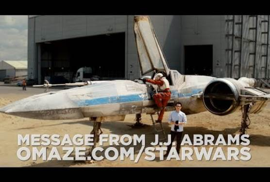 J.J. Abrams Reveals X-Wing in Star Wars: Episode VII