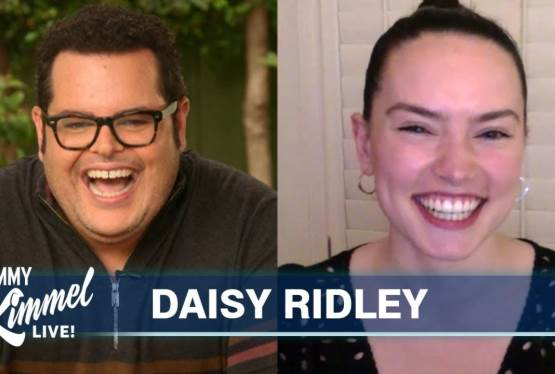 Josh Gad Interviews Daisy Ridley On Her Star Wars Lineage
