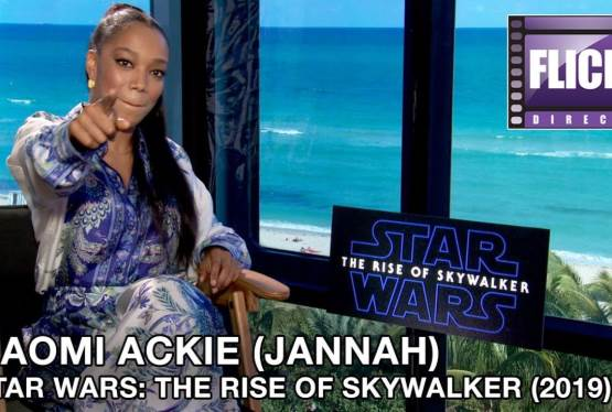 FlickDirect Speaks With Rise of Skywalker Actress,  Naomi Ackie