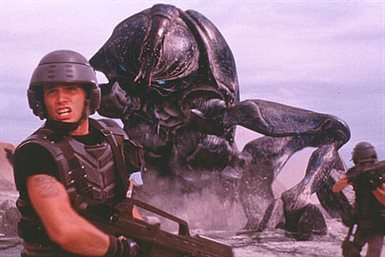 Starship Troopers © Columbia Pictures. All Rights Reserved.