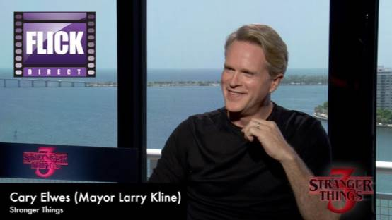 Stranger Things 3 Cary Elwes Speaks To FlickDirect
