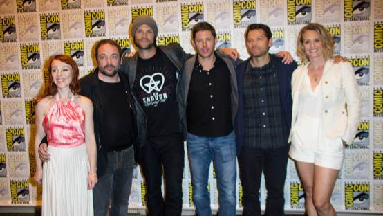 The Cast of Supernatural Talk Season 12 and More!
