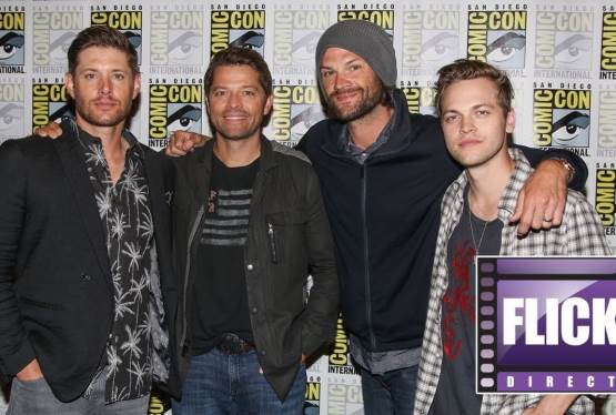 The Cast of Supernatural Talks Season 14 at Comic Con 2018