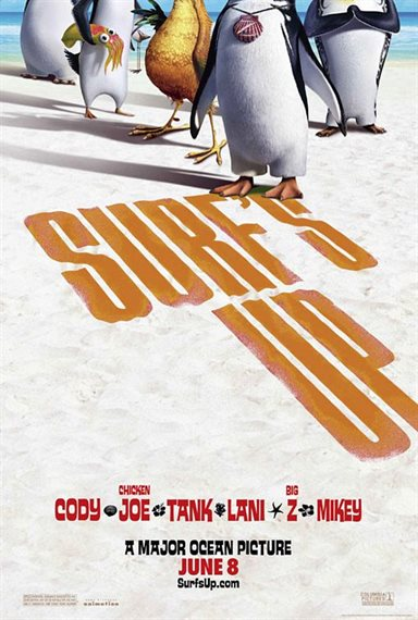 Surf's Up © Columbia Pictures. All Rights Reserved.