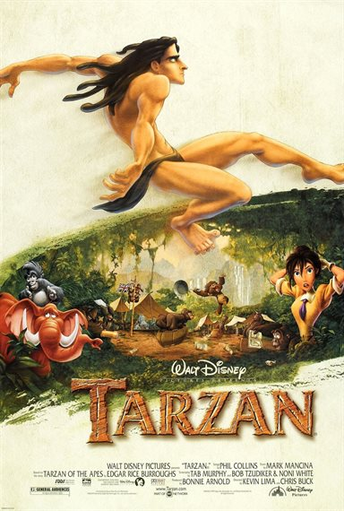 Tarzan © Walt Disney Pictures. All Rights Reserved.