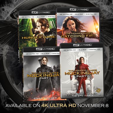 The Hunger Games Series 4K Ultra HD Review