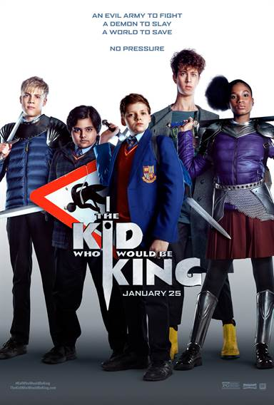 The Kid Who Would Be King Theatrical Review