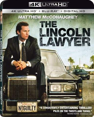 The Lincoln Lawyer 4K Ultra HD Review