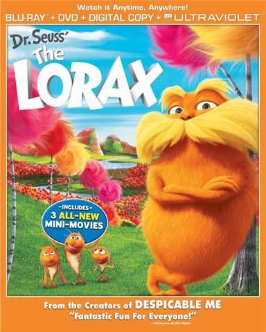 Dr. Seuss' The Lorax Blu-ray Review
