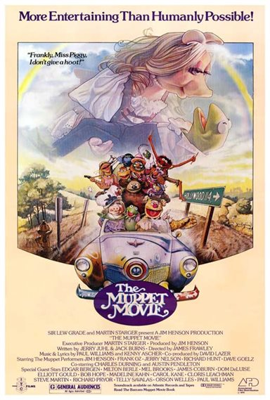 The Muppet Movie © Associated Film Distribution. All Rights Reserved.