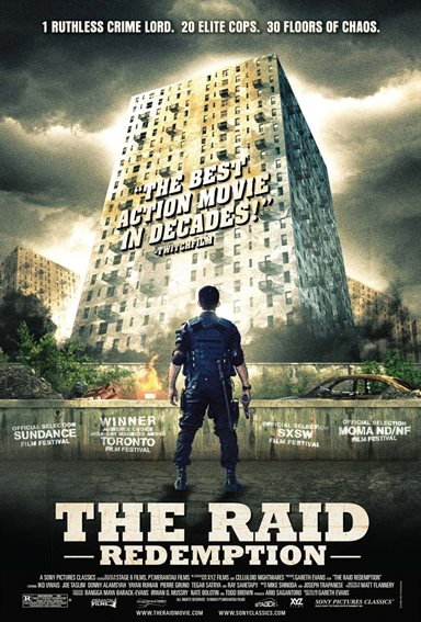The Raid: Redemption Theatrical Review