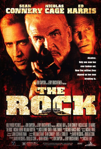 The Rock © Hollywood Pictures. All Rights Reserved.
