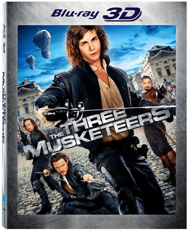The Three Musketeers 3D Blu-ray Review