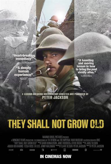 They Shall Not Grow Old © Warner Bros.. All Rights Reserved.