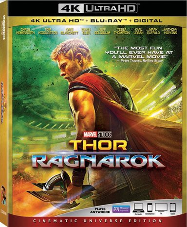 Thor: Ragnarok 4K Ultra HD Review