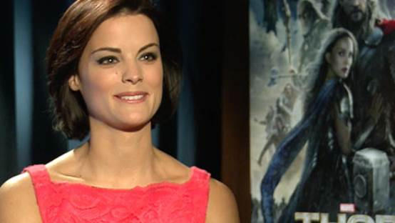 Jaimie Alexander, The Warrior Sif Interview