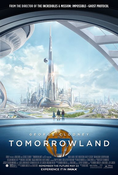 Tomorrowland © Walt Disney Pictures. All Rights Reserved.