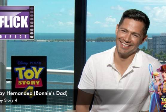 EXCLUSIVE: Jay Hernandez Talk's Toy Story 4
