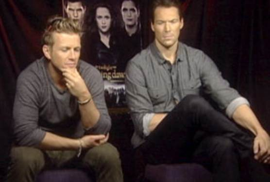 Twilight Volturi Charlie Bewley and Daniel Cudmore Discuss Breaking Dawn Part 2