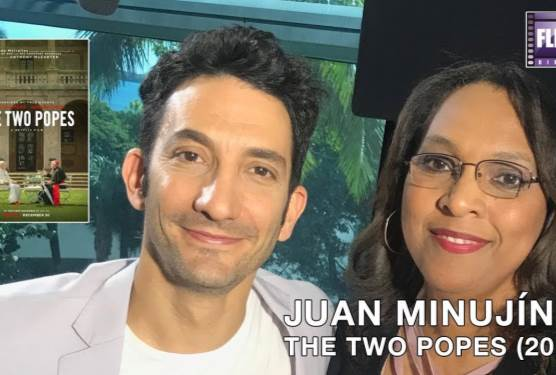 Juan Minujín Talks The Two Popes With FlickDirect's Jill Winans