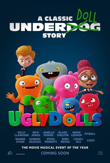 UglyDolls © STX Entertainment. All Rights Reserved.
