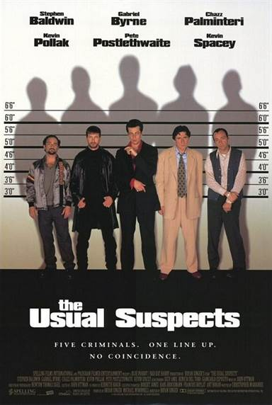 The Usual Suspects © Gramercy Pictures. All Rights Reserved.
