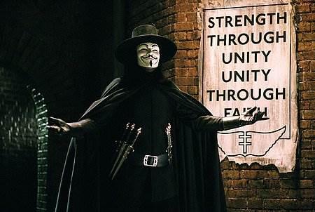 V For Vendetta © Warner Bros.. All Rights Reserved.