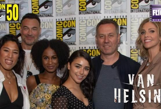Meet The Cast of SyFy's Van Helsing Season Four