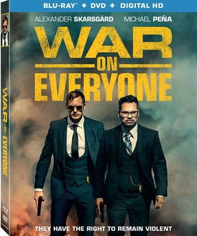 War on Everyone Blu-ray Review
