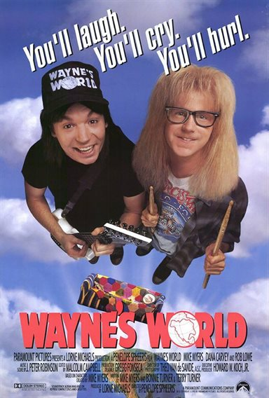 Wayne's World © Paramount Pictures. All Rights Reserved.