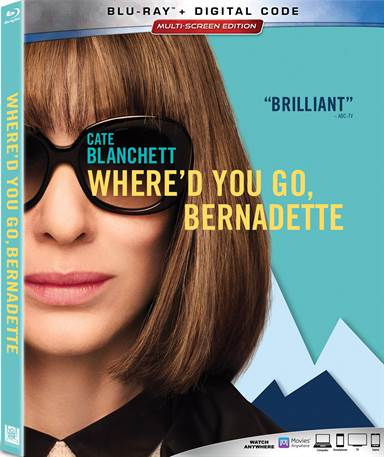 Where'd You Go, Bernadette Blu-ray Review