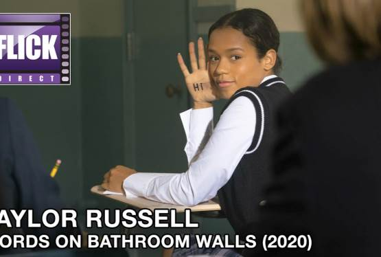 Taylor Russell Tells All About Words On Bathroom Walls