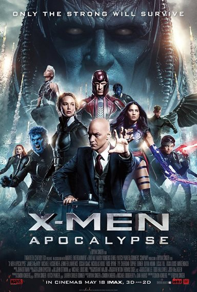 X-Men: Apocalypse © 20th Century Fox. All Rights Reserved.