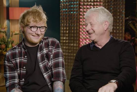 Behind the Scenes: Richard Curtis & Ed Sheeran