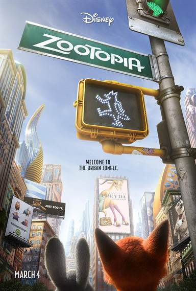 Zootopia © Walt Disney Pictures. All Rights Reserved.