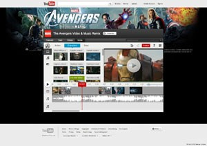 Make Your Own Marvel's The Avengers Video and Music Remix on YouTube