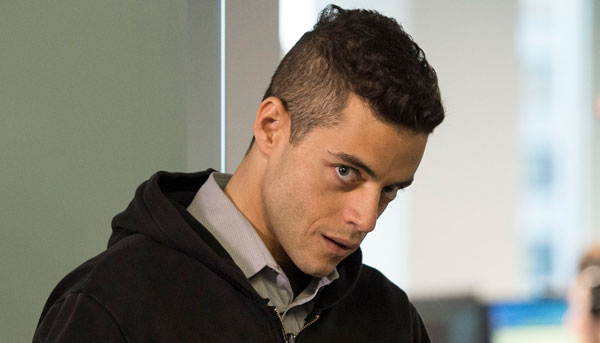 Image result for Rami Malek, Mr. Robot