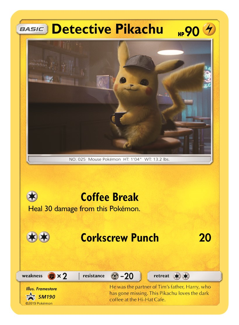 Pokemon Detective Pikachu Trading Card Event To Take Place Opening