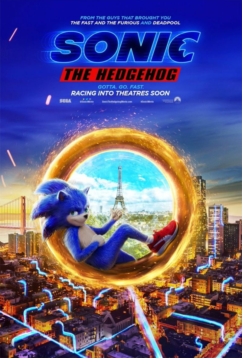 Sonic The Hedgehog Film Release Pushed Back To Next Year Entertainment News Flickdirect