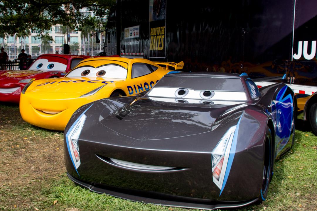 cars 3 disney pixar car 3 road show event miami fl. Black Bedroom Furniture Sets. Home Design Ideas