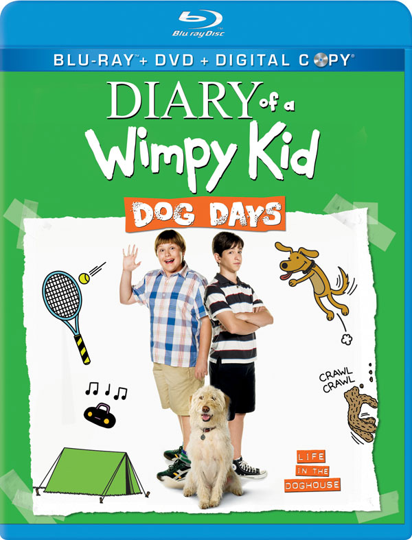 Diary Of A Wimpy Kid Dog Days Blu Ray Review Diary Of A Wimpy Kid Dog Days 2012 Flickdirect