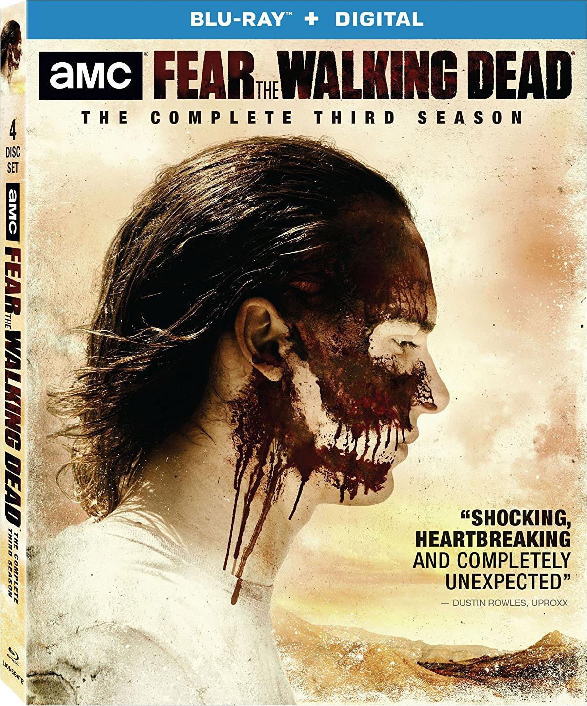 fear the walking dead  the complete third season blu
