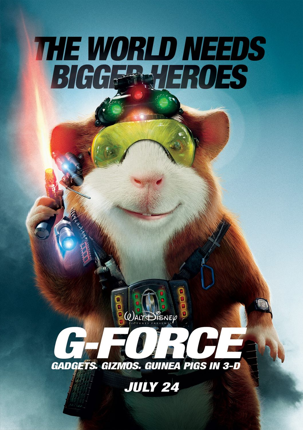 G Force Theatrical Review G Force 2009 Movie Review Flickdirect