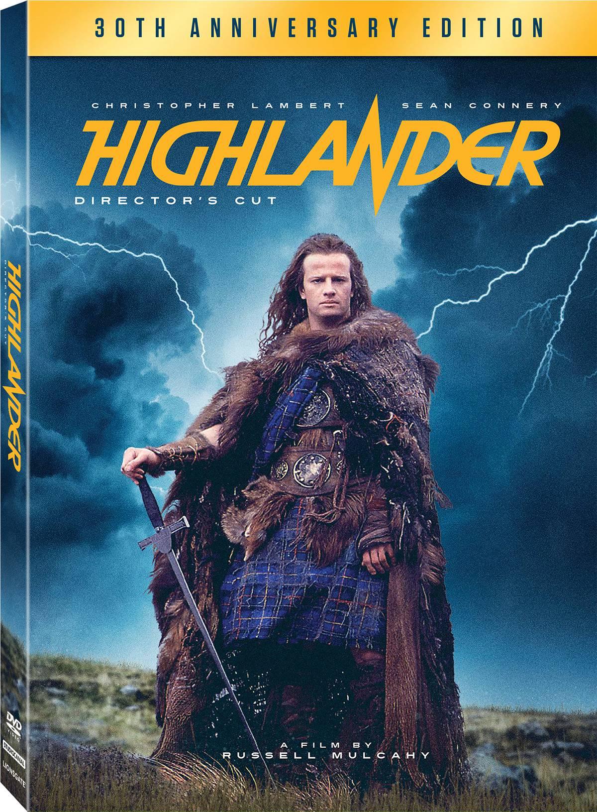 Highlander : 30th Anniversary DVD Review, Highlander