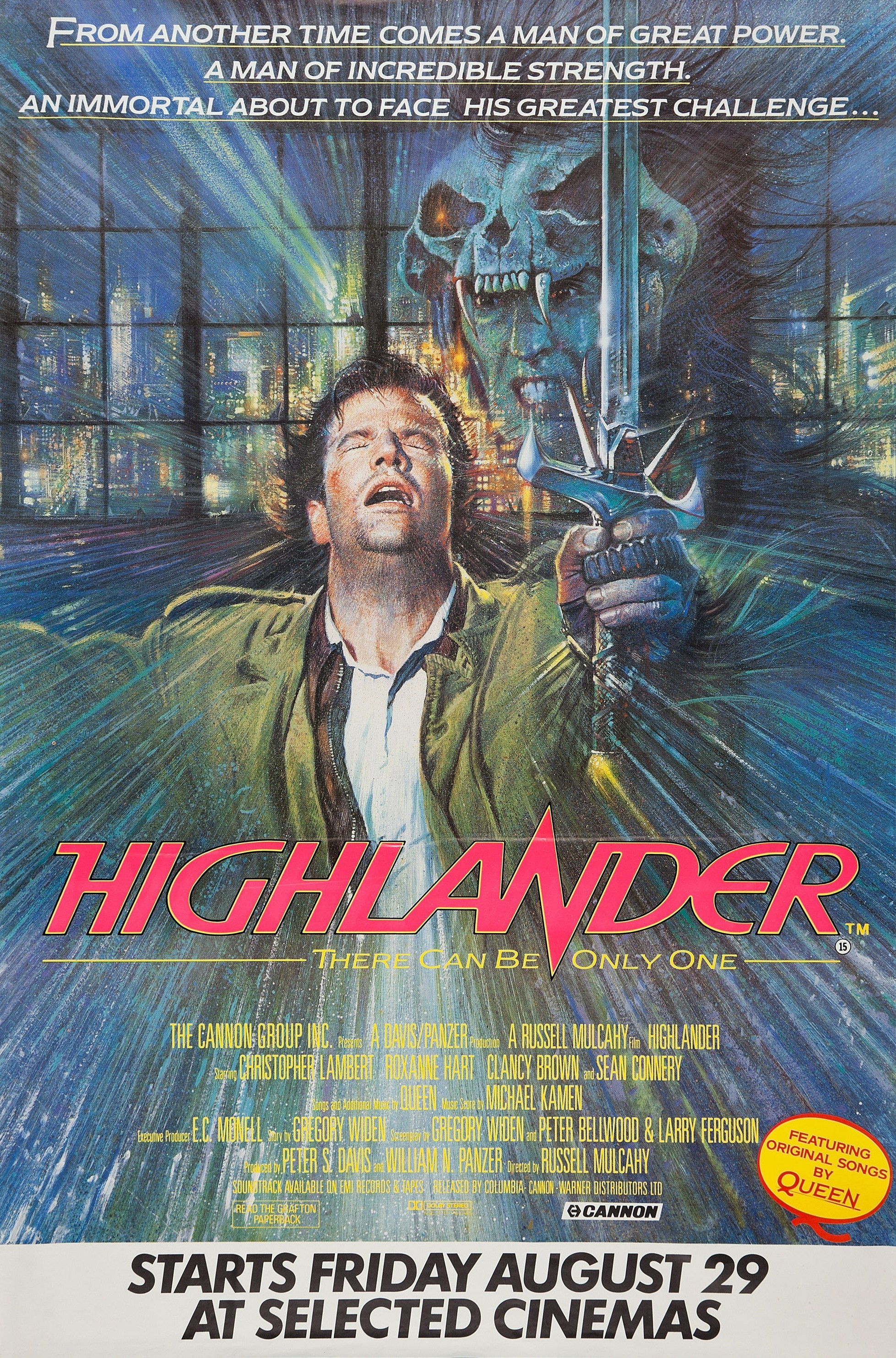 Highlander Quotes Highlander 1986 News Clips Quotes Trivia Easter Eggs
